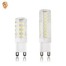 G9 LED AC220V 3W 4W 5W 7W LED Bulb 2835SMD Super Bright Chandelier Light replace 30W 40W 50W 70W Halogen Lamp