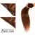Grampo de Cabelo humano em Extensões de 14 polegada-24 polegada Natureza Reta Cabelo Castanho Escuro Grampo de Cabelo Humano Brasileiro Virgem Cabelo Remy em Clipes