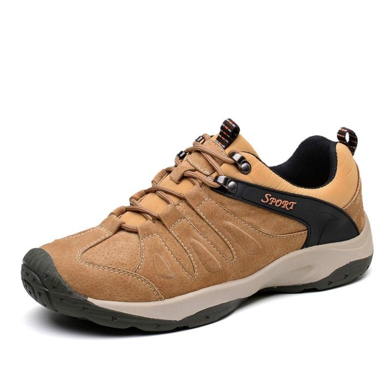 Marque Cuir Antidérapantes yellow Véritable Automne De Marche Printemps Confortable Xz 2018 032 kaki Qualité Hommes Casual Chaussures Sneakers Bleu En xOIxPwEU