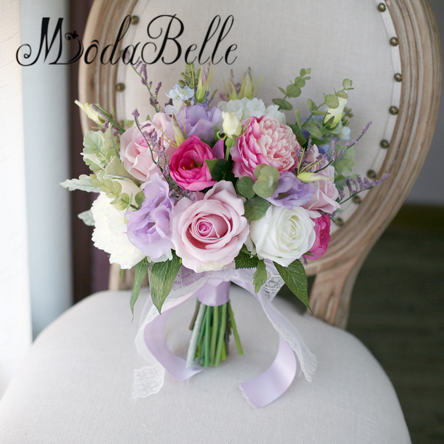 Modabelle Luxurious Bride Wedding Bouquets Vintage Ramos De Novia