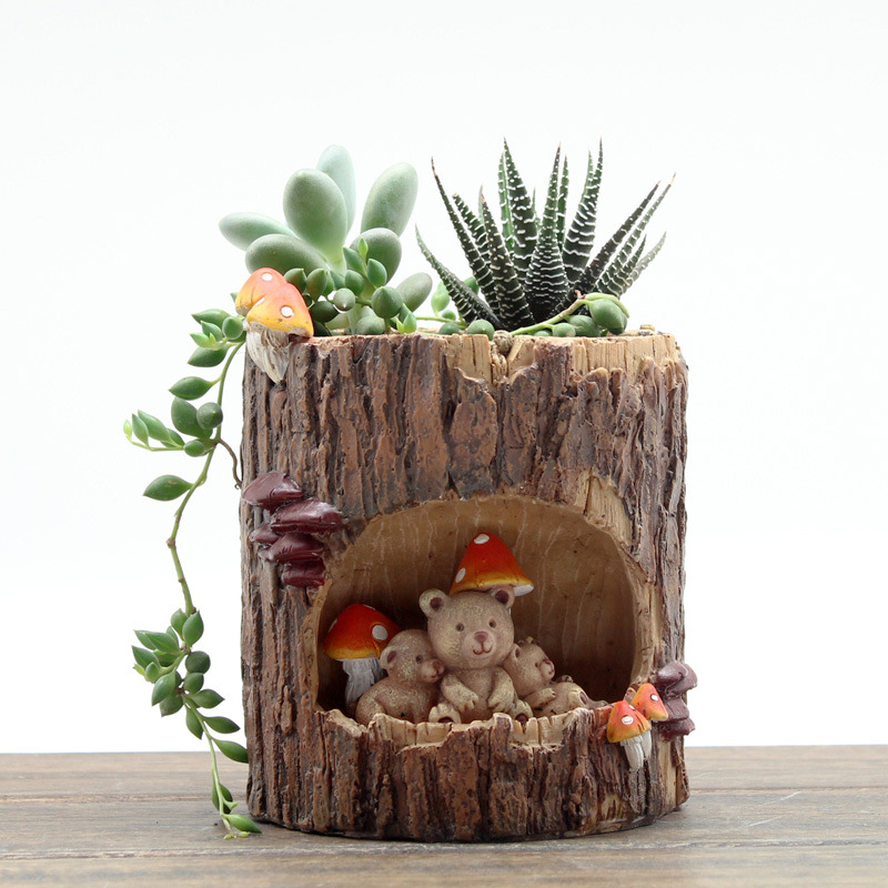popular animal plant pots buy cheap animal plant pots lots. Black Bedroom Furniture Sets. Home Design Ideas