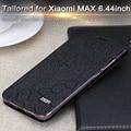 Mofi para xiaomi mi max fosco tampa do caso de couro da aleta de luxo fundas para mi max 6.44 polegadas coque mi max acessórios originais