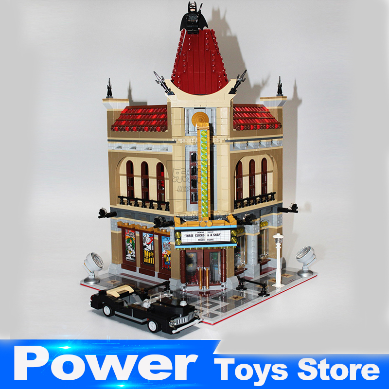 LEPIN 15006 2354pcs Palace Cinema Model Building Blocks Set Bricks Toys Compatible 10232 Toys For Children 2016 new lepin 15006 2354pcs creator palace cinema model building blocks set bricks toys compatible 10232 brickgift