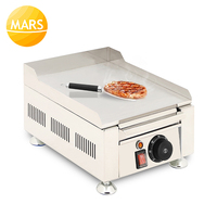 Commercial BBQ Griddle Electric Griddle Steak/Fish/Chicken/Sandwich Frying Pan Electric Teppanyaki Grilling Machine Equipment
