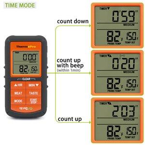 Image 5 - ThermoPro TP 07 300 ฟุตช่วงเครื่องวัดอุณหภูมิแบบไร้สายระยะไกล BBQ,สูบบุหรี่,ย่าง,เตาอบ, เครื่องวัดอุณหภูมิเนื้อสัตว์และเครื่องจับเวลา