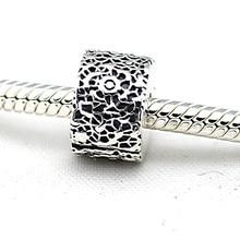 Se adapta a Pandora pulsera y collar Clips de plata más nueva Original 925 encantos de la plata esterlina de la joyería DIY venta al por mayor