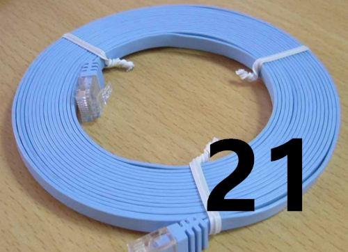 Imagen de 2019 Ethernet Cable High Speed RJ45 Network LAN Cable Router Computer Cable for Computer Router 21