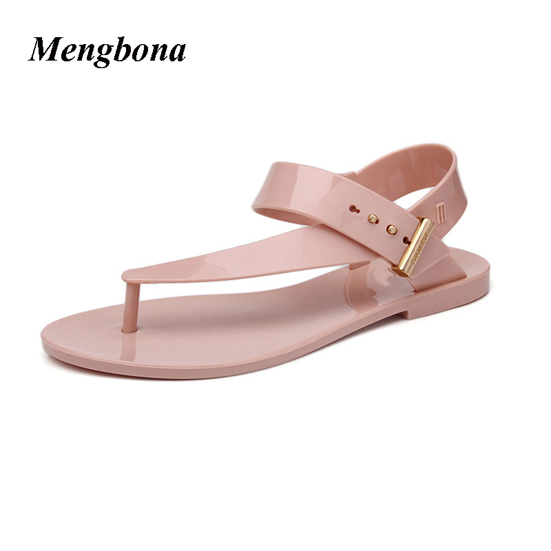 2017 Summer Fashion sandals women jelly shoes sandalias mujer sapato feminino chaussure femme LX042
