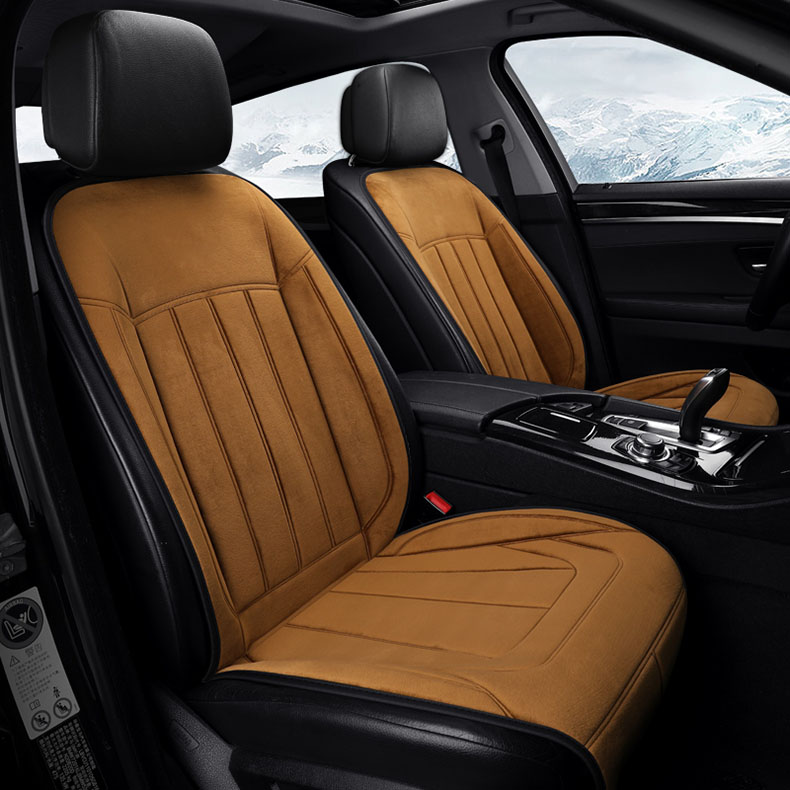 1 PC Winter Heating Car Seats Cushion 12V 24V Universal Warm Automobile Seat Cover Heated Pad Intelligent Control Comfortable