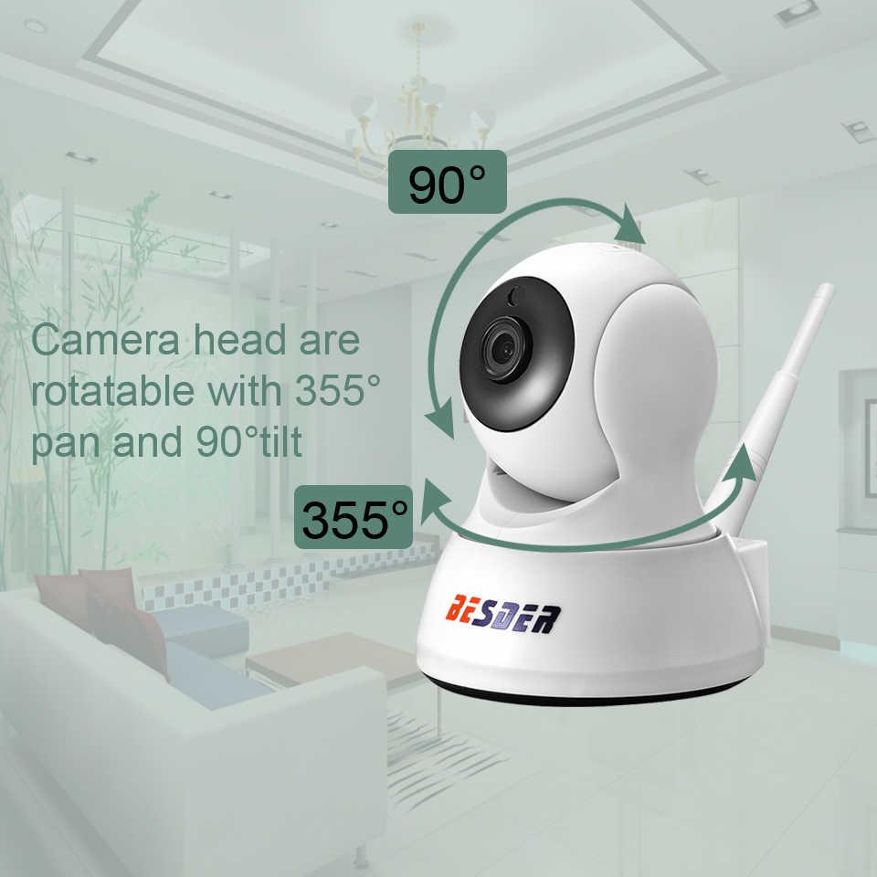 Besder 1080P 720P Rumah Keamanan Kamera Ip Dua Cara Audio Wireless Mini Kamera Malam Visi CCTV Kamera Wifi baby Monitor Icsee
