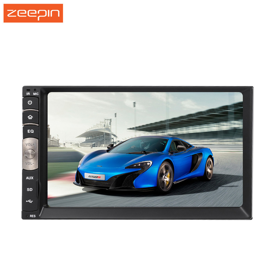 C500 Universal 2 Din 7 inch Touch Screen Car Auto Stereo Autoradio Radio Bluetooth FM Tuner AM USB MP3 MP4 V Player Carplay joyous j 2611mx 7 touch screen double din car dvd player w gps ipod bluetooth fm am radio rds