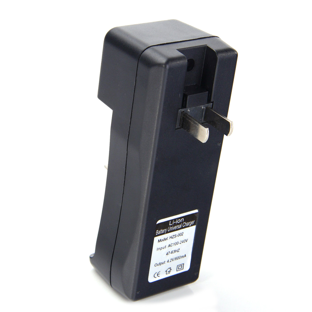 18650 Battery Charger Black 2 Slots AC 110V 220V Dual For 18650 Charging 3.7V Rechargeable Li-Ion US EU Plug - ANKUX Tech Co., Ltd