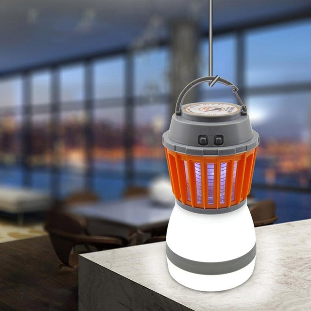 все цены на LED Light Mosquito Killer Lamp IP67 Waterproof Night Light 5V Insects Flies Pest Bug Zapper Killer For Outdoor House Garden