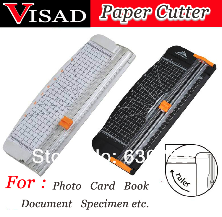 VISAD Scissors Portable Paper Trimmer Paper cutting machine Manual paper cutter for A4 Photo with side ruler цены