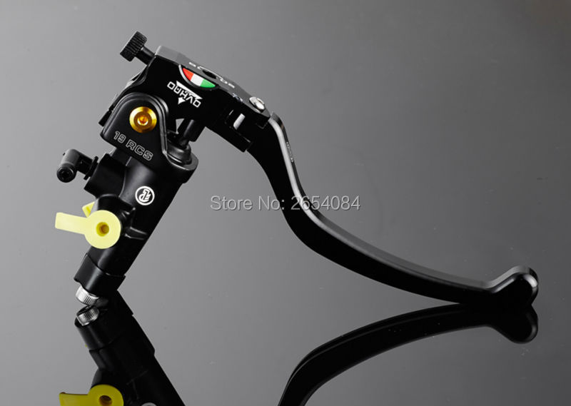 ФОТО Universal Motorcycle parts Brake Pump 19RCS Technology of CNC Multicolor Hydraulic Clutch Brake For Kawasaki Yamaha ducati