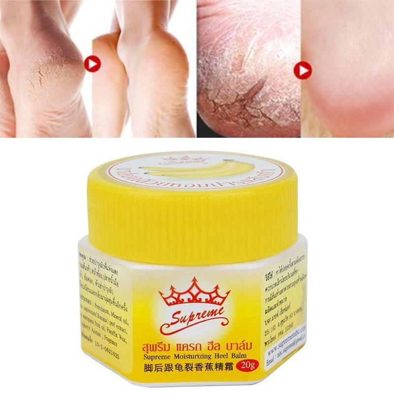 Thailand Banana Anti-chapping Repair Heel Cream Moisturizing Heel Prevent Dry Crack Ointment Foot Care Crack Relief Smooth Skin