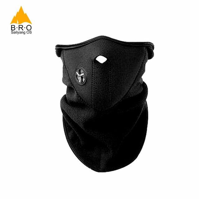 Windproof Winter Face Mask Ski Running Mask Balaclava Neck Warmer Half Face Mask Sports Bike Face Mask Cycling Face Shield