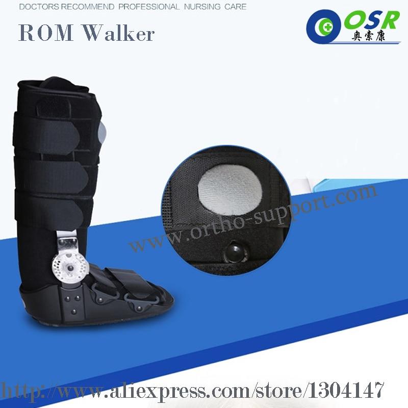 ROM Pneumatic Walker 17 Orthopedic Inch Walking Air Boot Cast Brace - Penjagaan kesihatan - Foto 4