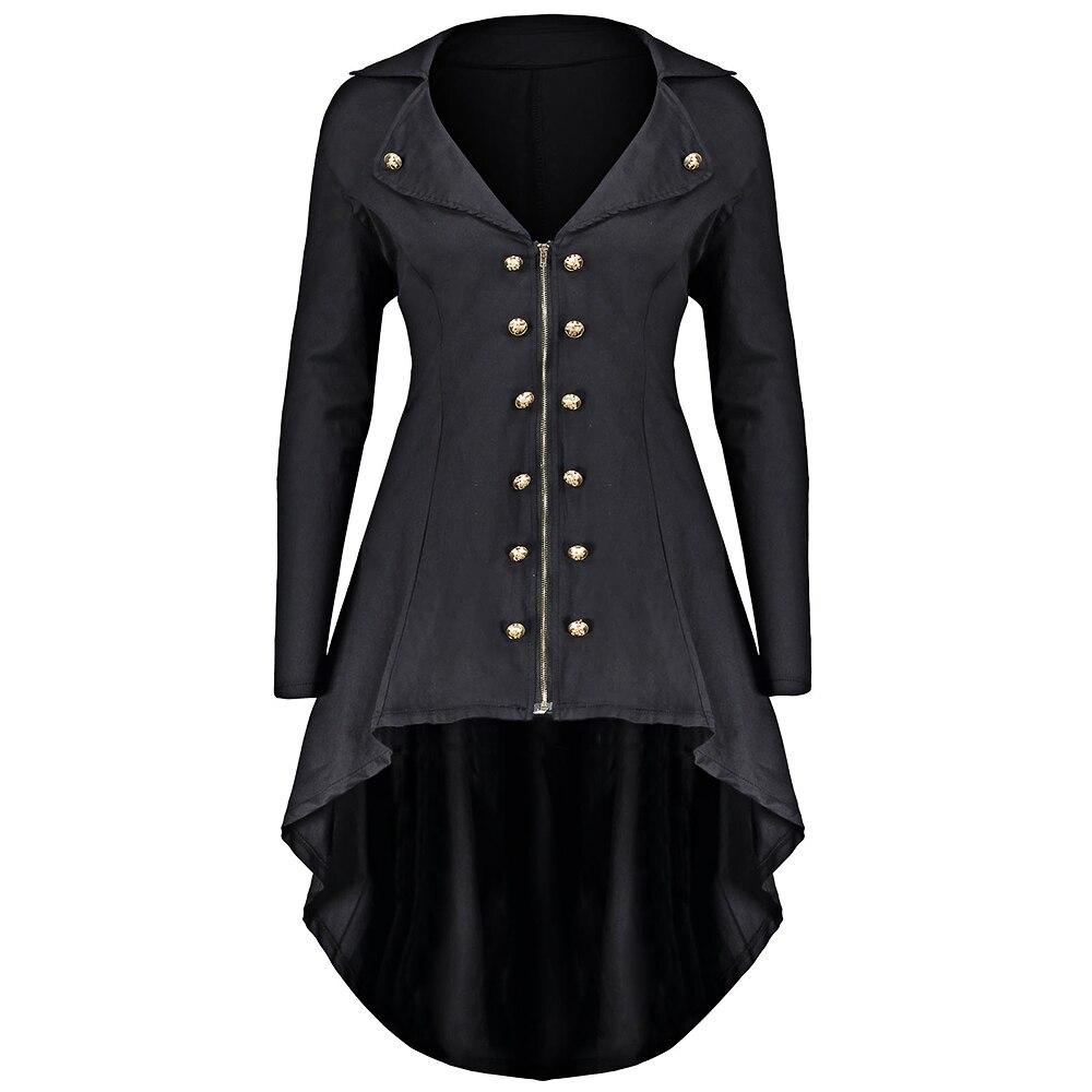 Gamiss Autumn Winter Jacket Women Double Breast Plus Size ...