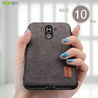 for huawei mate 10 pro case cover MOFI mate 10 Hard PC Back Cover Case for mate 10Pro Soft TPU Fabrics material Full Cover Case