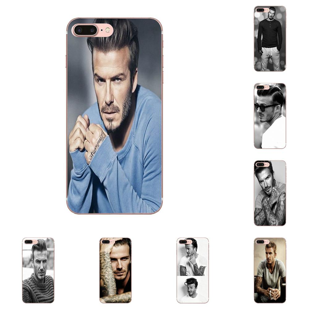 For Galaxy A3 A5 A7 A8 A9 A9S On5 On7 Plus Pro Star 2015 2016 2017 2018 TPU New Fashion Joke Eleven Paris Smith David Beckham image
