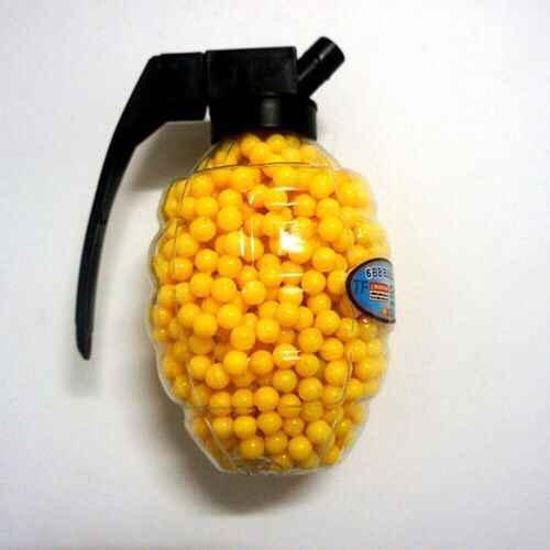 1000 Pcs Airsoft 6 Mm BB Strikeball Taktis Berburu Shooting Praktek BB Peluru Paintball Plastik Polished Pelet