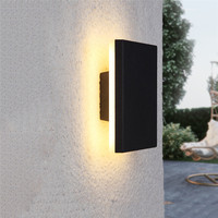 Led Outside Wall Light Waterproof Wall Lamp Porch Garden Aisle Corridor Wall Lighting Light Fixture Aluminum Wall Lights BL57