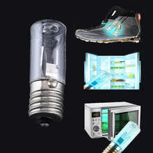 UV Bulb Lamp E17 Sterilizer Ultraviolet Light Bulbs 3W UV-C Replacement Ozone Sterilizing Germicidal Quartz
