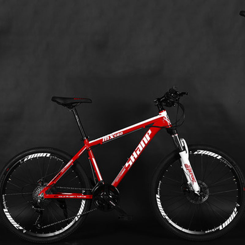 Mountain Bike Aluminum Frame 24 27 Speed 26 Inch Men And Women Adult Double Disc Brake Bicycle 2019 New