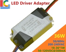 18W 24W 30W 36W LED Driver Adapter 300mA Ceiling light Lighting Transformer Panel Light Power Sipply Downlight