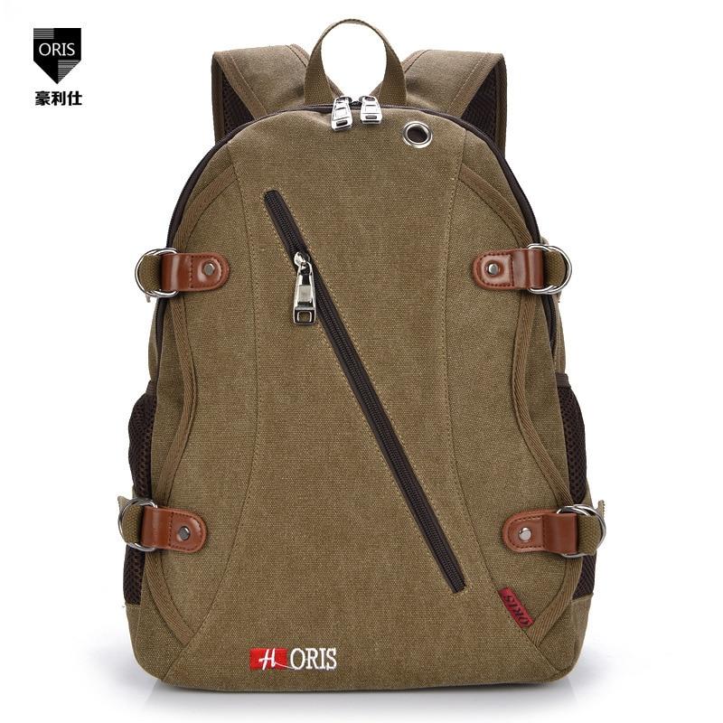 Travel Backpacks Vintage Canvas Backpack School Teenagers Girls Mochila Mala De Viagem