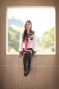 Image 4 - ญี่ปุ่น High School Girl Sailor Uniform ชุดคอสเพลย์เครื่องแต่งกายชุดยาว Anime Jigoku Shojo สาวนรก Enma Ai คอสเพลย์