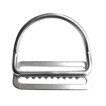 316 Stainless Steel Weight Belt Keeper Stopper Bent D Ring Scuba Diving Gear Fits All Standard 2/5cm Wide Webbing Belts/Harness