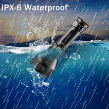 Waterproof 5000 lm XH P50 LED Flashlight Portable