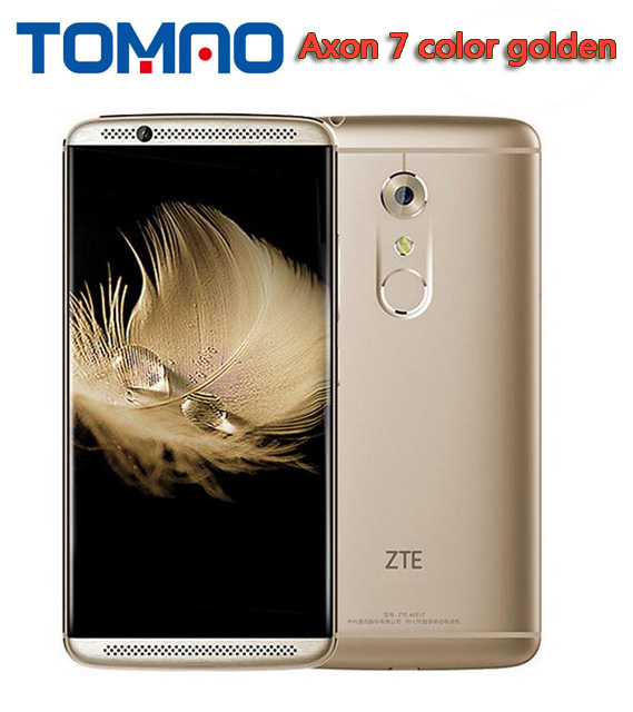Original ZTE Axon 7 A2017 4G LTE Mobile Phone Snapdragon820 Android 6 0 5 5 2560X1440
