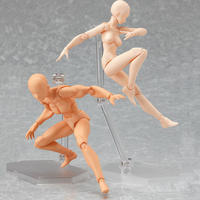 Doll Body Moveable Joints Doll Man Or Women Naked Body With Head Toy Gift Doll