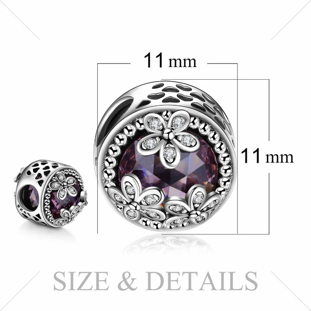 Authentic Silver Bead Charm