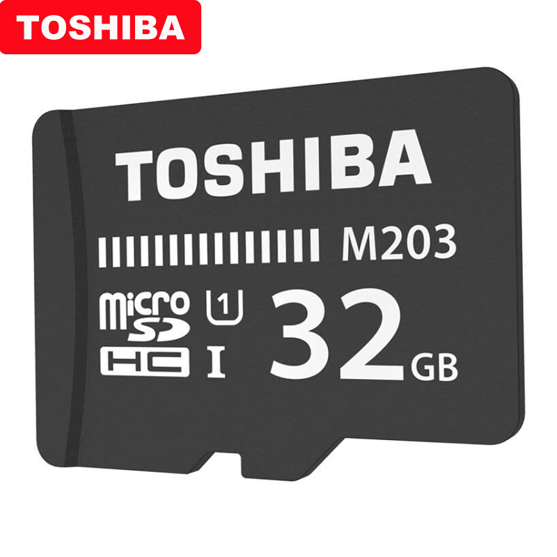 Image 3 - TOSHIBA Micro SD Card M203 Class 10 16GB 32GB 64GB 128GB Memory Card C10 Mini SD Card SDHC SDXC UHS I TF Card For Smartphone/TV-in Micro SD Cards from Computer & Office