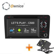 Ownice C500 Android 6.0 Quad Core 2 Din 7″ 1024*600 Car DVD Player For Audi A4 2002-2008 Radio GPS 4G wifi 2GB RAM 16GB ROM BT