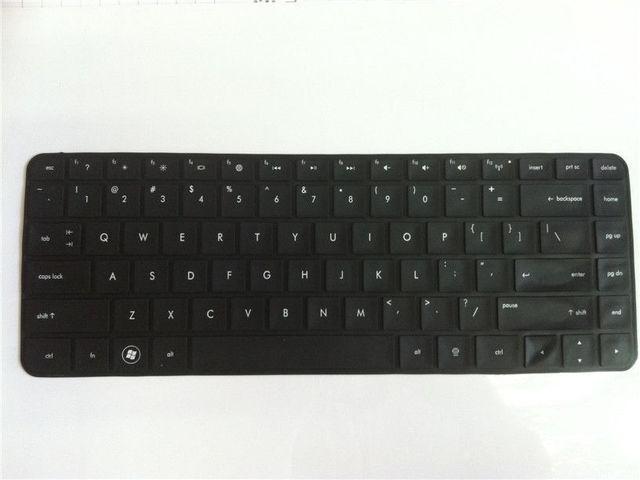 Чорний США Клавіатура Шкірного Покриву Протектор Для HP Pavilion G4/G6/ENVY 4-1007tx/HP 2000 HP_026_F