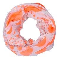 Pink New Style Print Dot Stripe Voile Chiffon Ladies Scarves Hot Sale Trendy Warm Winter Blanket