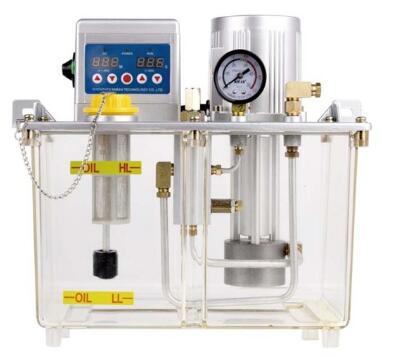 Pompe lubrifiante à contrôle automatique Miran MRG-3232-510XB 5L utilisée pour l'huile et la graisse fines avec alarme sonore pompe de lubrification automatique
