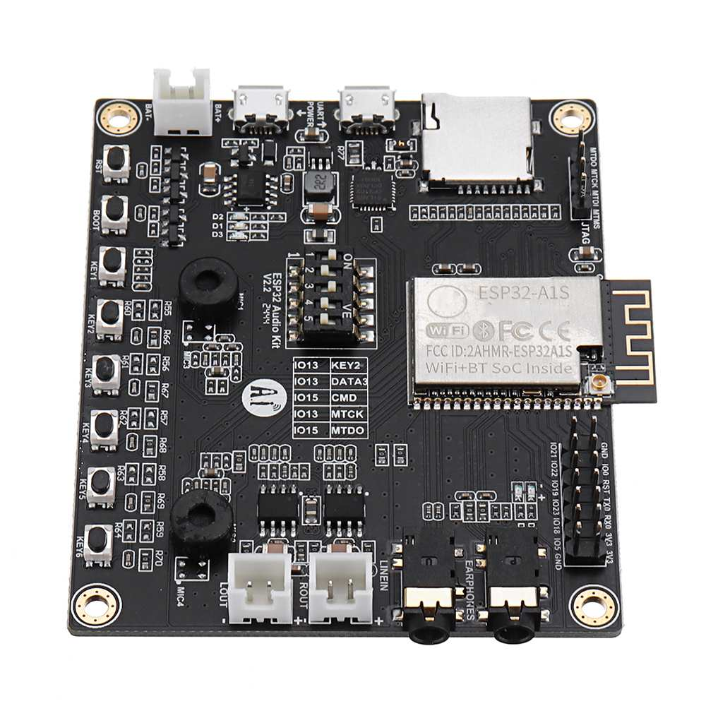 LEORY WiFi+ Bluetooth Module Aduio Kit ESP32 Serial To WiFi Audio Development Board With ESP32-A1S NEW