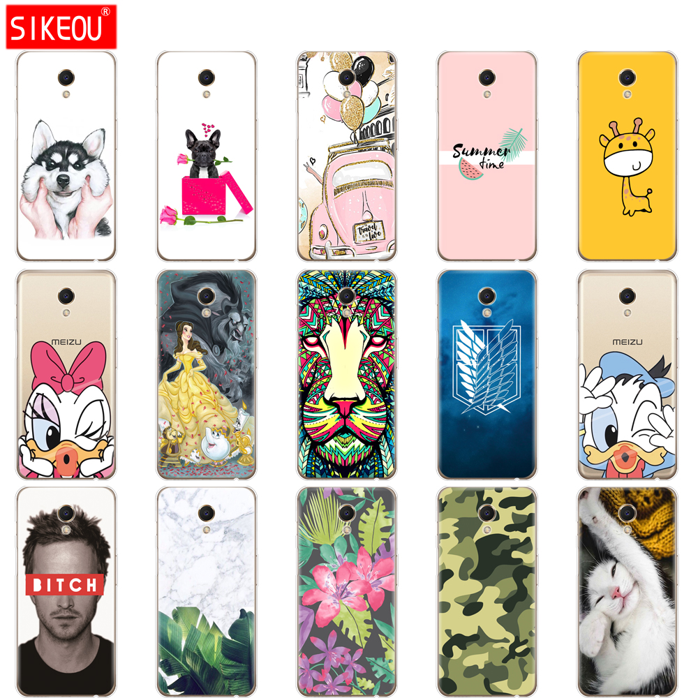 Phone <font><b>Case</b></font> For <font><b>Meizu</b></font> <font><b>M6s</b></font> Cover <font><b>Case</b></font> On Cute Cartoon Tpu Soft Silicon <font><b>Case</b></font> Meilan S6 For <font><b>Meizu</b></font> <font><b>M6S</b></font> Back Cover 5.7 Inch image