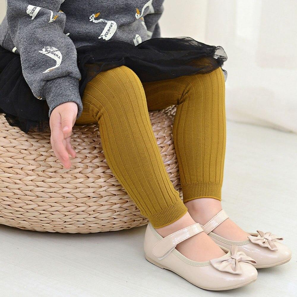 Telotuny Meisjes Leggings Kinderen Warme Winter Broek Kids Leggings Meisjes Broek Voor Peuter Legging Knit Z0829 Regelmatig Drinken Met Thee Verbetert Uw Gezondheid