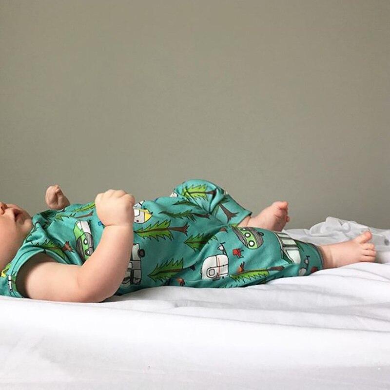 Lato 2018 jesień baby girl bez rękawów sweet romper drukowane - Odzież dla niemowląt - Zdjęcie 3