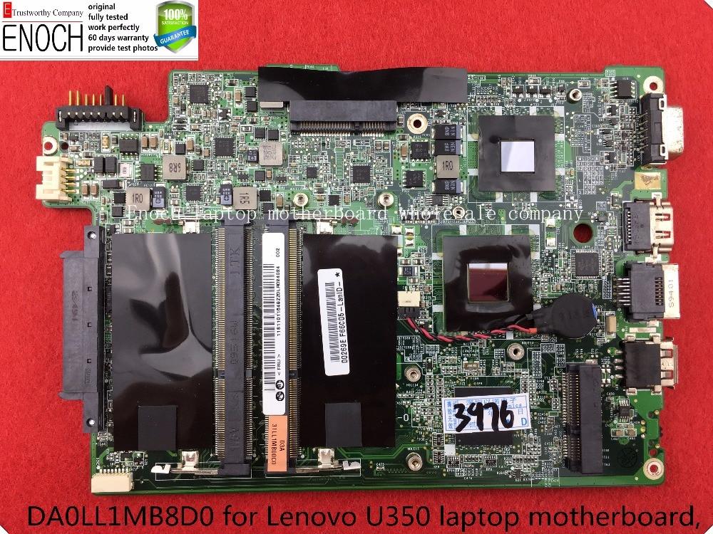 DA0LL1MB8D0 for Lenovo U350 laptop motherboard, U350 main board store No.004