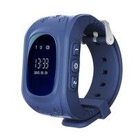 Новейшая модель; Q50 Детские умные наручные часы gps трек умные часы SOS вызова Расположение Finder трекер Baby анти потерял монитор