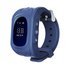 Newest Q50 Kids Smart Wristwatch Kid Safe GPS Track Smart