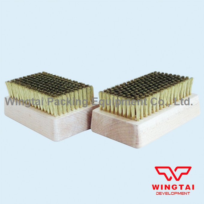 Brass Wire Brush 0.127mm copper wire brush For Cleaning Chrome Anilox Roll 2 pcs lot stainless steel wire brush for cleaning ceramic anilox roller